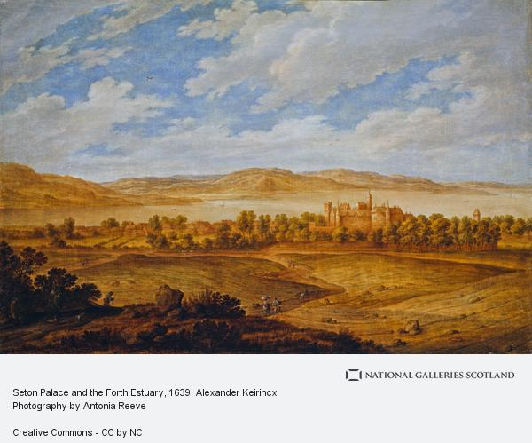 Alexander Keirincx, Seton Palace and the Forth Estuary (About 1639)
