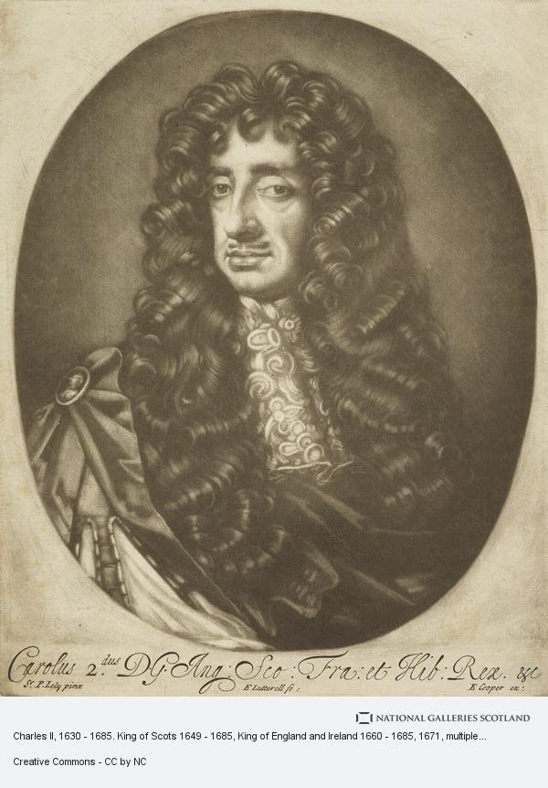 Sir Peter Lely, Charles II, 1630 - 1685. King of Scots 1649 - 1685, King of England and Ireland 1660 - 1685