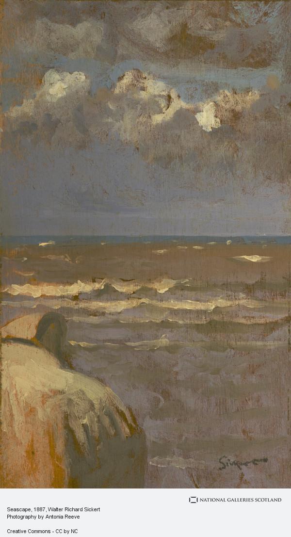 Walter Richard Sickert, Seascape