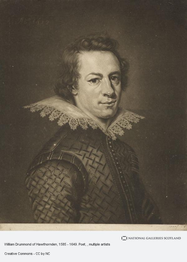 William Drummond hawthornden 1585 1649 poet