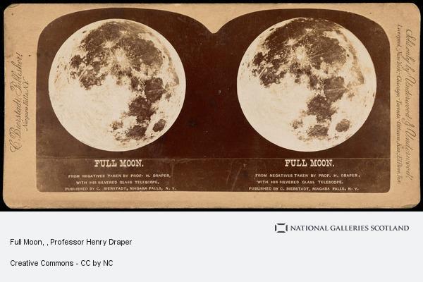 Professor Henry Draper, Full Moon