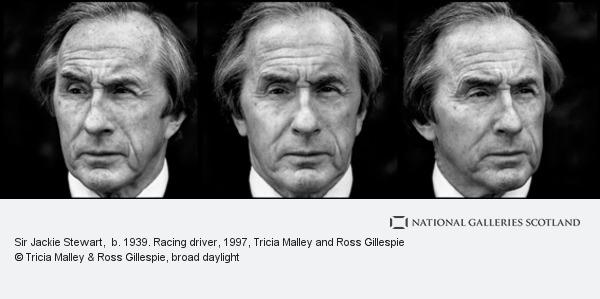 Tricia Malley and Ross Gillespie, Sir Jackie Stewart,  b. 1939. Racing driver