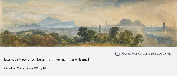 Jane Nasmyth, Extensive View of Edinburgh from Inverleith