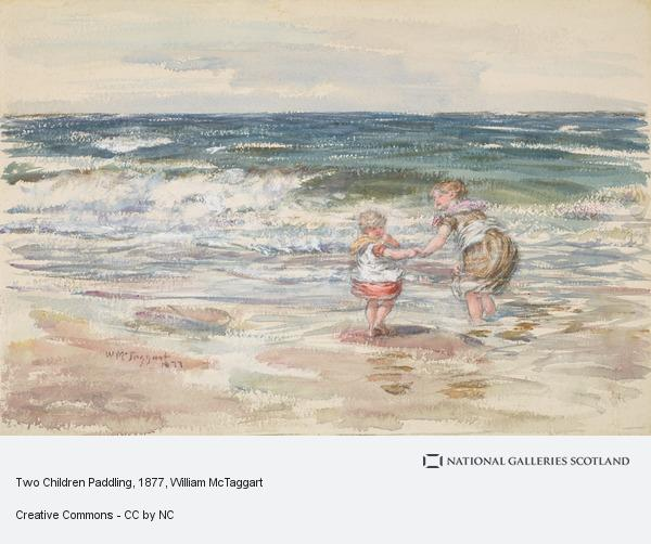 William McTaggart, Two Children Paddling