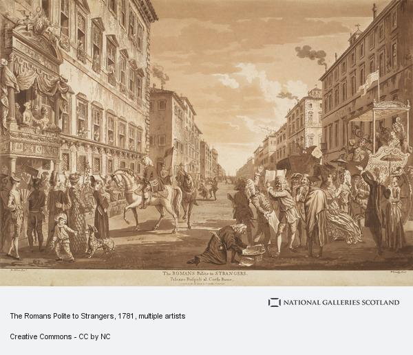 Paul Sandby, The Romans Polite to Strangers