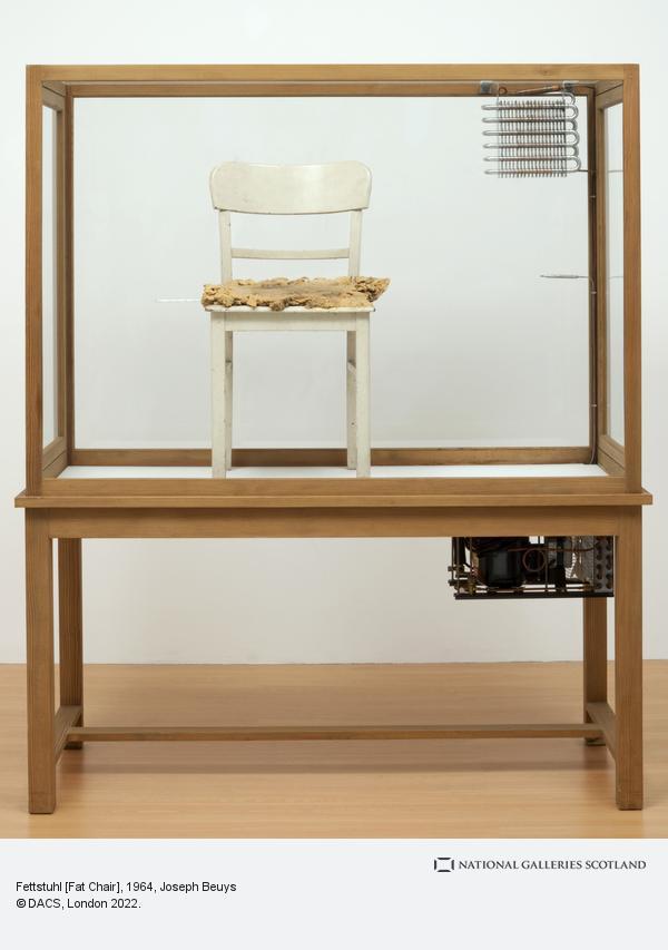 Joseph Beuys, Fettstuhl [Fat Chair] (1964 - 1985)
