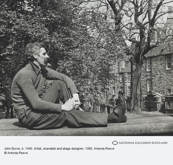 Antonia Reeve, John Byrne, b. 1940. Artist, dramatist and stage designer