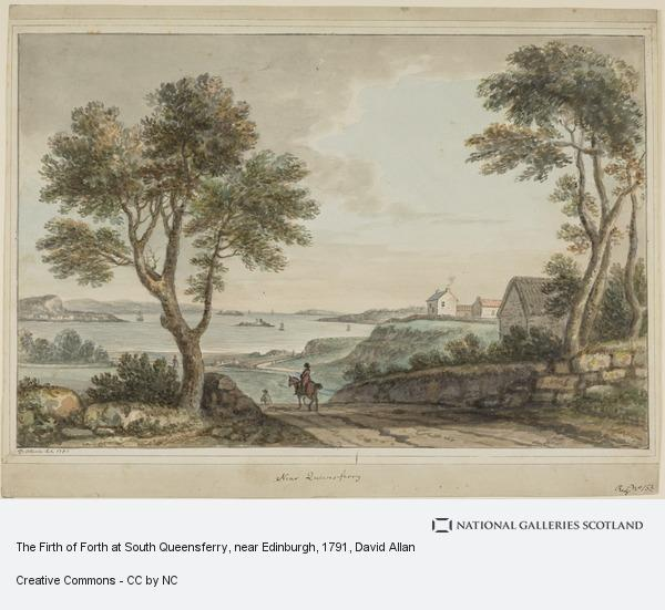 David Allan, The Firth of Forth at South Queensferry, near Edinburgh (Dated 1791)