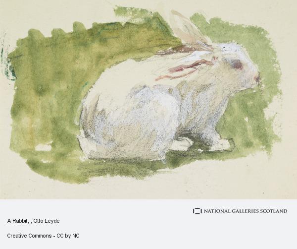 Otto Leyde, A Rabbit