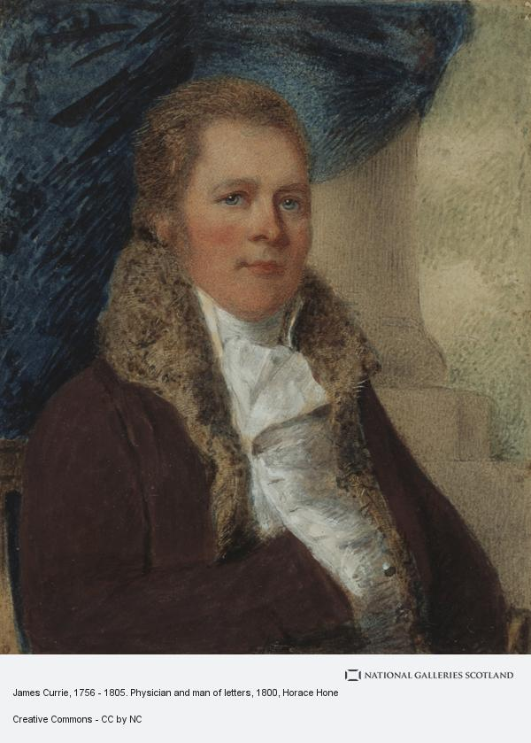 Horace Hone, James Currie, 1756 - 1805. Physician and man of letters