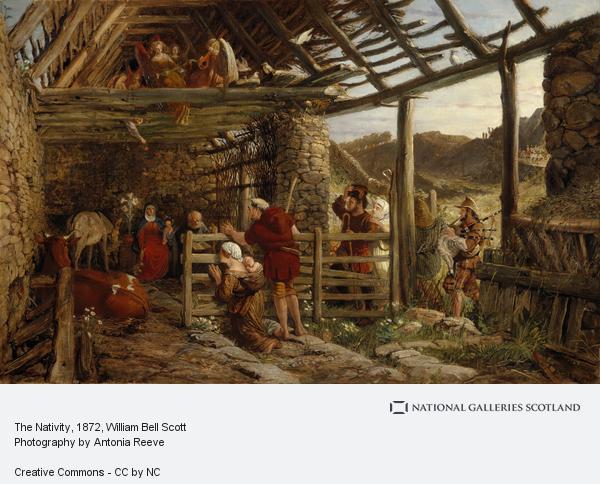 William Bell Scott, The Nativity (1872)