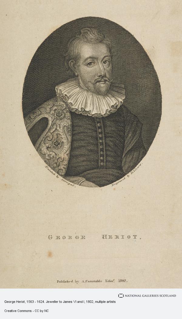 Daniel Lizars, George Heriot, 1563 - 1624. Jeweller to James VI and I