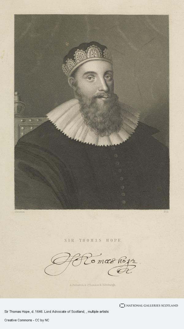 Holl, Sir Thomas Hope, d. 1646. Lord Advocate of Scotland