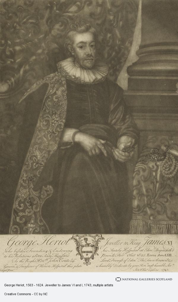 John and C. Esplens, George Heriot, 1563 - 1624. Jeweller to James VI and I