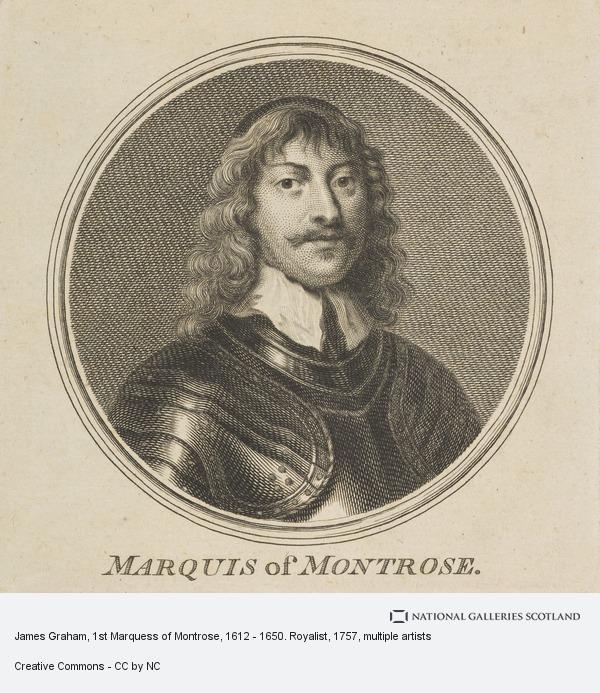 Sir Robert Strange, James Graham, 1st Marquess of Montrose, 1612 - 1650. Royalist