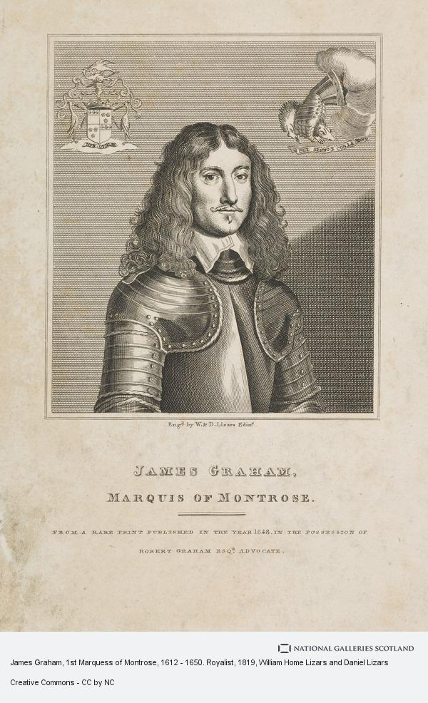 William Home Lizars and Daniel Lizars, James Graham, 1st Marquess of Montrose, 1612 - 1650. Royalist