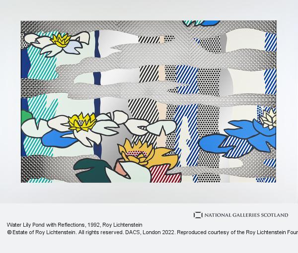 Roy Lichtenstein, Water Lily Pond with Reflections