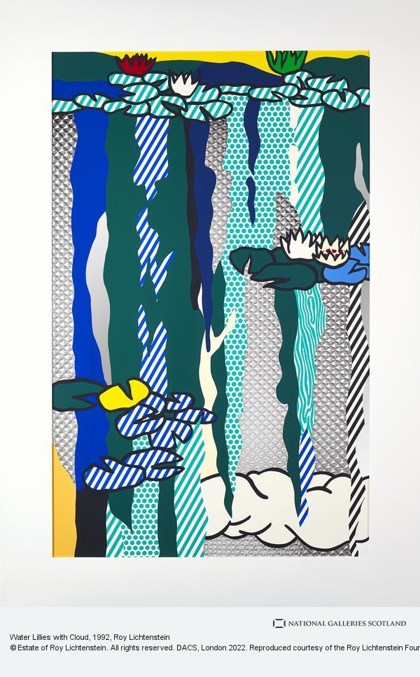 Roy Lichtenstein, Water Lillies with Cloud