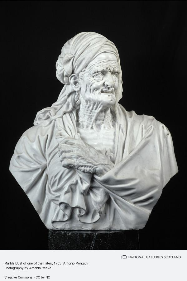 Antonio Montauti, Marble Bust of one of the Fates