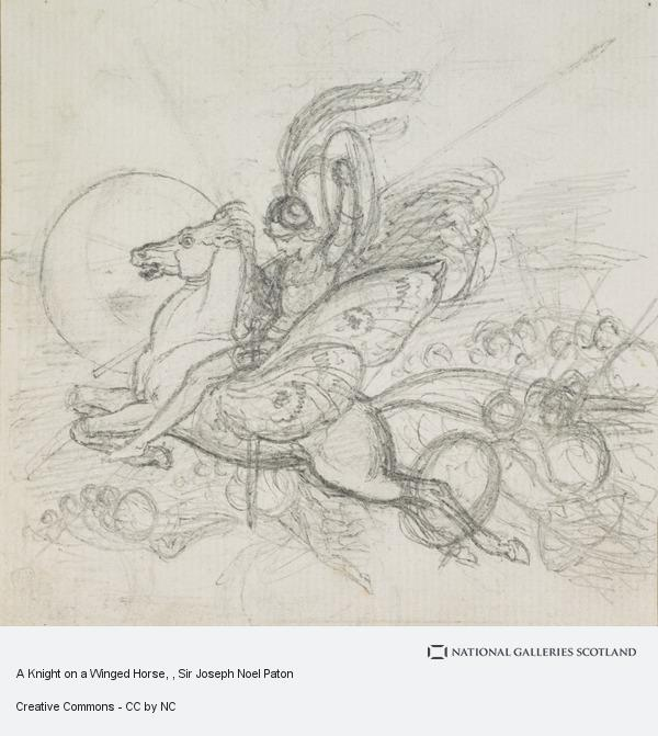 Sir Joseph Noel Paton, A Knight on a Winged Horse
