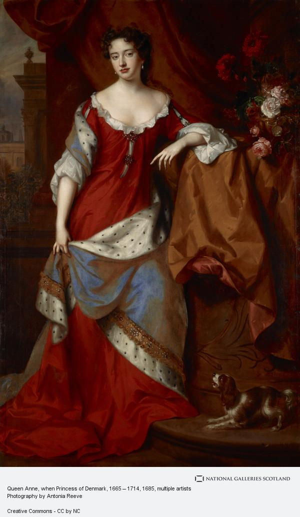 Jan van der Vaardt, Queen Anne, when Princess of Denmark, 1665 – 1714 (About 1685)