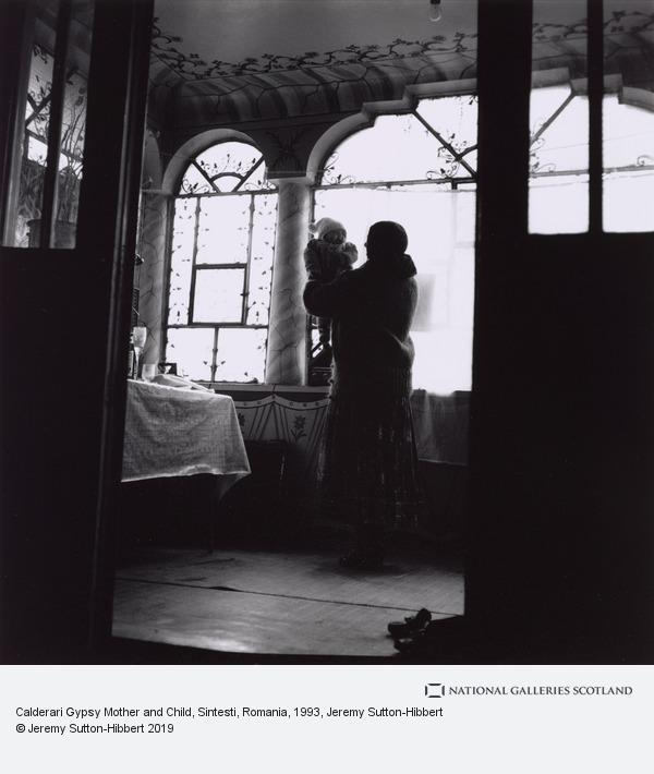 Jeremy Sutton-Hibbert, Calderari Gypsy Mother and Child, Sintesti, Romania