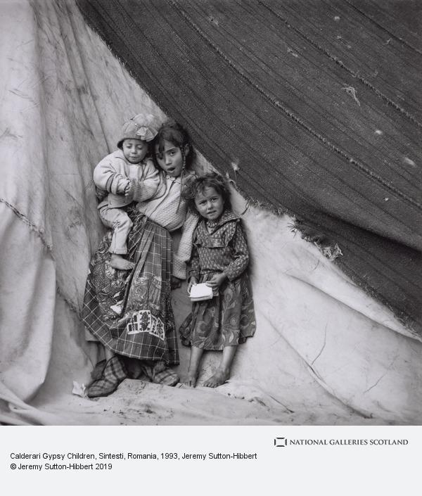 Jeremy Sutton-Hibbert, Calderari Gypsy Children, Sintesti, Romania