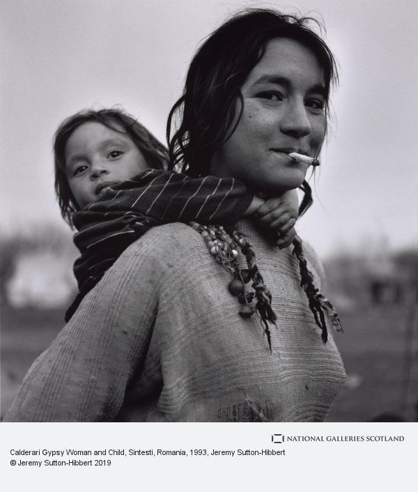 Jeremy Sutton-Hibbert, Calderari Gypsy Woman and Child, Sintesti, Romania