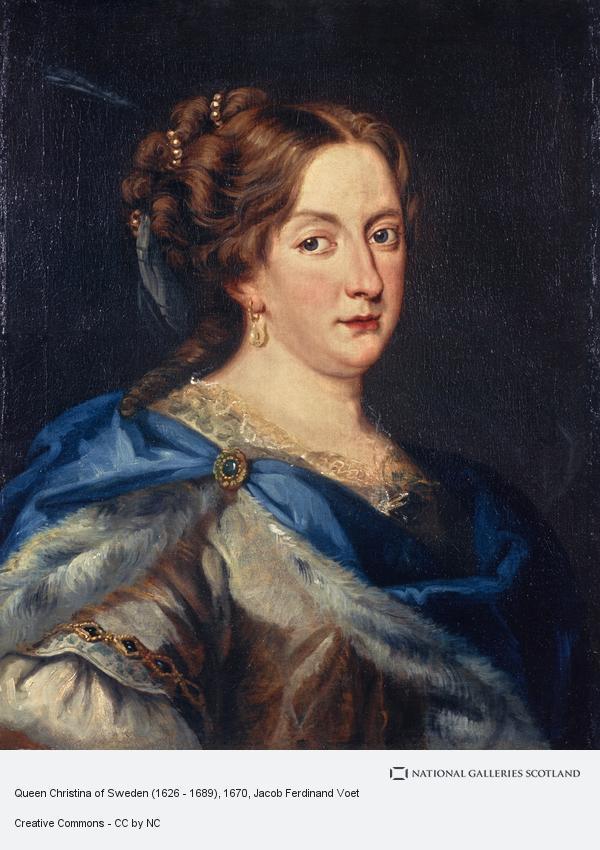Jacob Ferdinand Voet, Queen Christina of Sweden (1626 - 1689)
