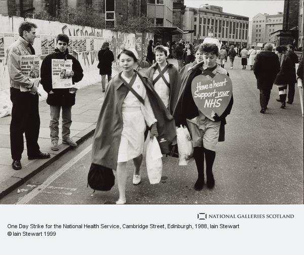 Iain Stewart, One Day Strike for the National Health Service, Cambridge Street, Edinburgh