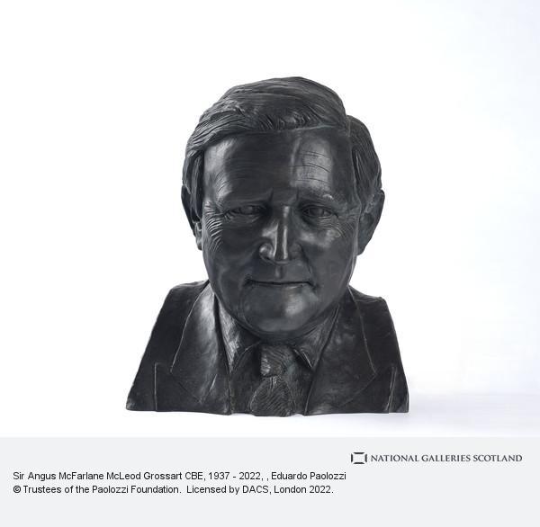 Sir Eduardo Paolozzi, Sir Angus Grossart, b. 1937. Merchant banker