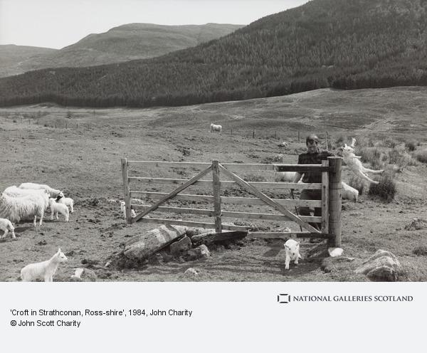 John Charity, 'Croft in Strathconan, Ross-shire'