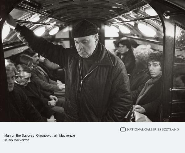 Iain Mackenzie, Man on the Subway, Glasgow