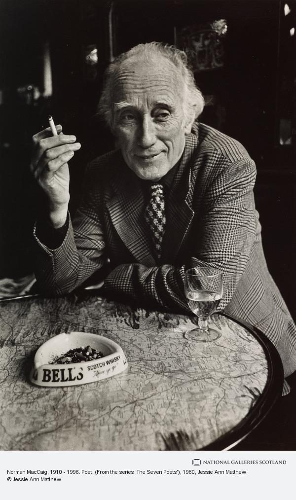 Jessie Ann Matthew, Norman MacCaig, 1910 - 1996. Poet. (From the series 'The Seven Poets')