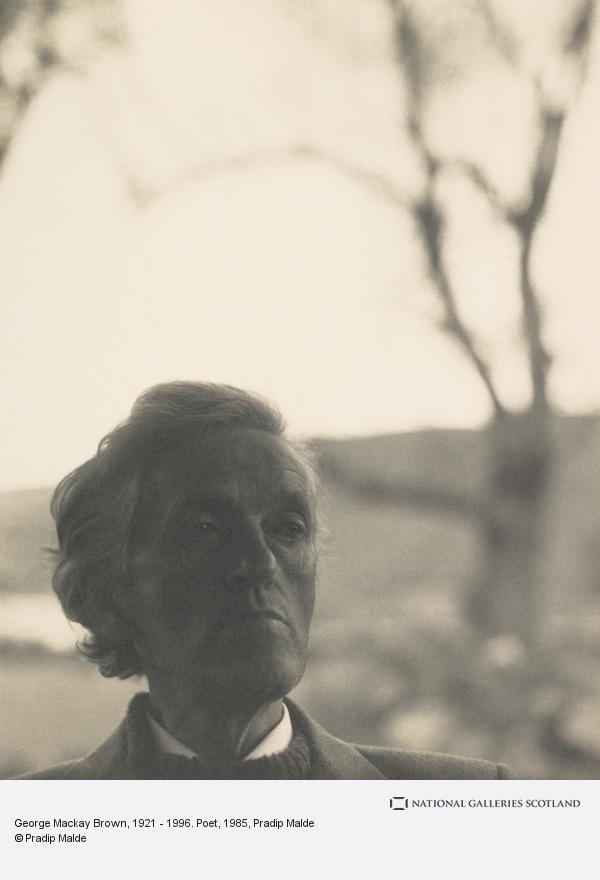 Pradip Malde, George Mackay Brown, 1921 - 1996. Poet (1985)