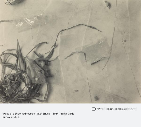 Pradip Malde, Head of a Drowned Woman (after Shunei)