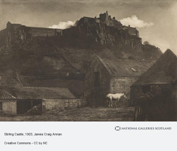 James Craig Annan, Stirling Castle (About 1903)
