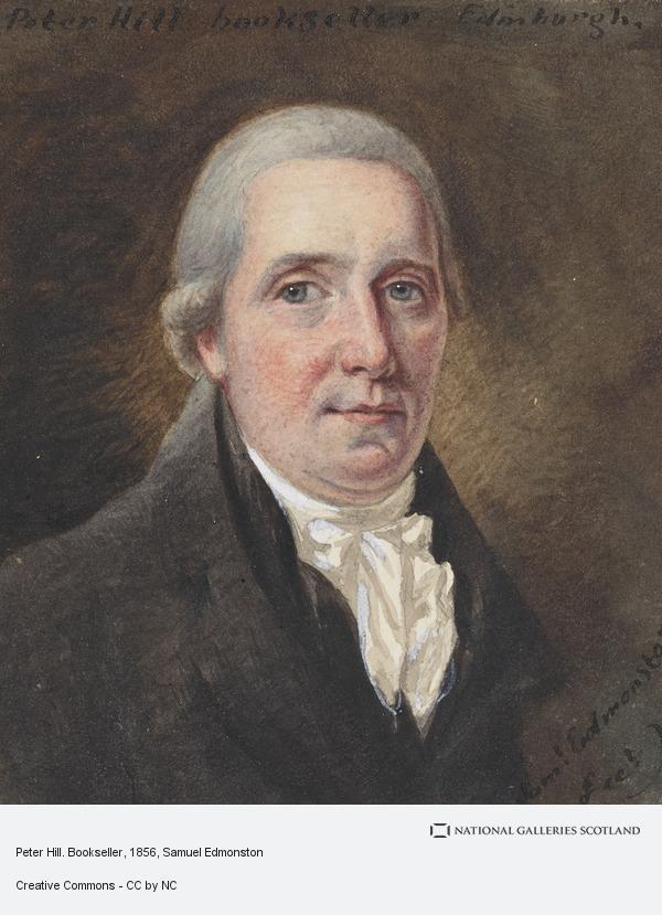 Samuel Edmonston, Peter Hill. Bookseller