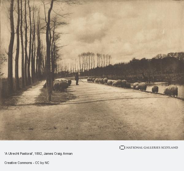 James Craig Annan, 'A Utrecht Pastoral'
