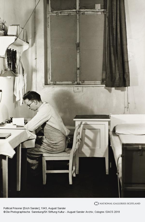 August Sander, Political Prisoner [Erich Sander], 1943 (1943)