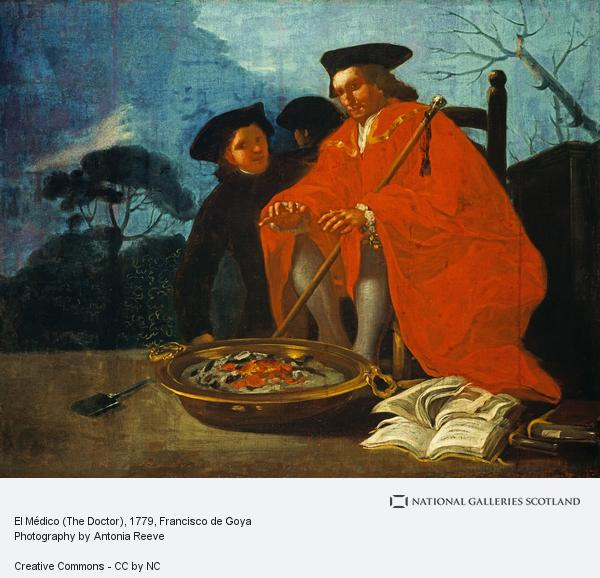 Francisco de Goya y Lucientes, El Médico (The Doctor) (1779)