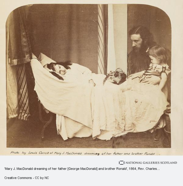 Rev. Charles Lutwidge Dodgson, 'Lewis Carroll', 'Mary J. MacDonald dreaming of her father [George MacDonald] and brother Ronald' (About 1864)