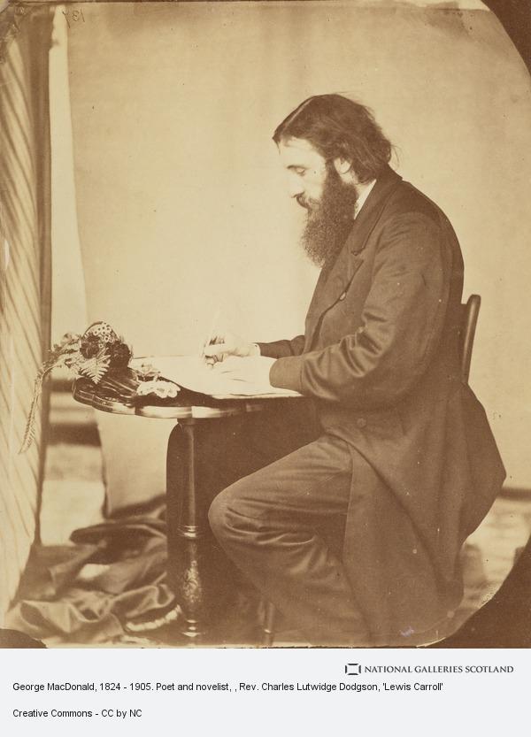 Rev. Charles Lutwidge Dodgson, 'Lewis Carroll', George MacDonald, 1824 - 1905. Poet and novelist