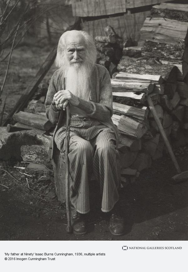 Imogen Cunningham, 'My father at Ninety' Isaac Burns Cunningham