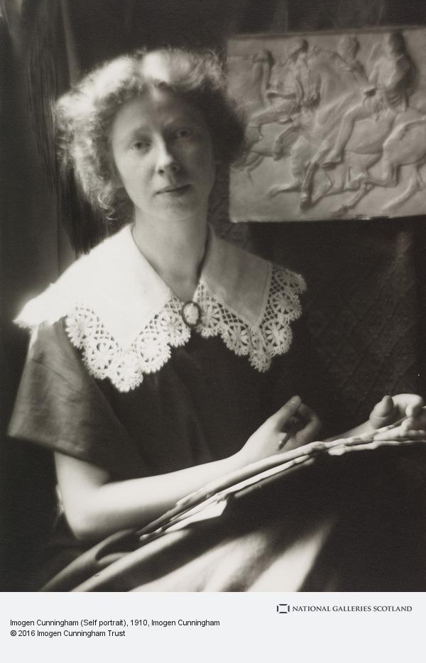 Imogen Cunningham, Imogen Cunningham (Self portrait)