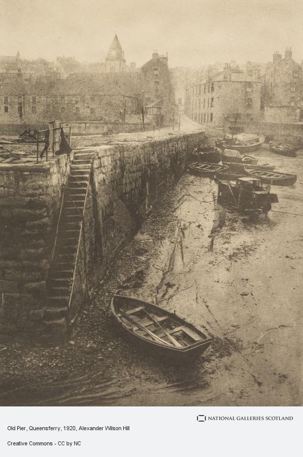 Alexander Wilson Hill, Old Pier, Queensferry