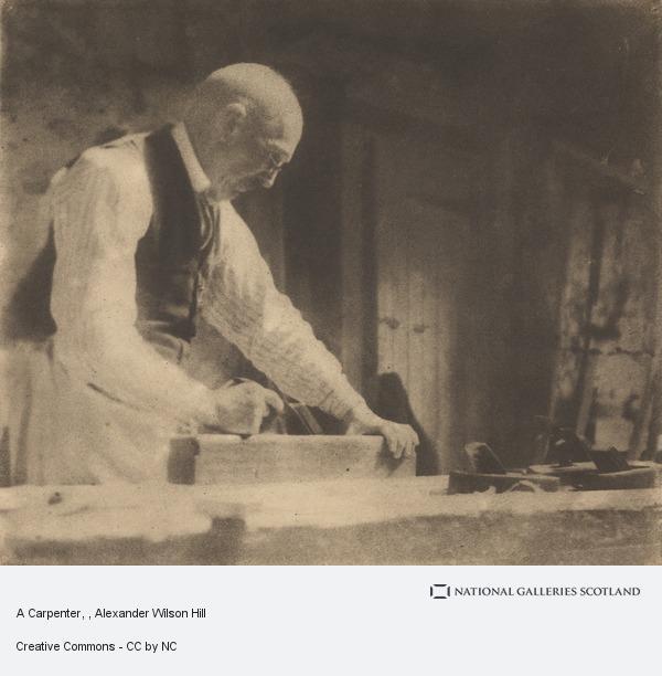 Alexander Wilson Hill, A Carpenter