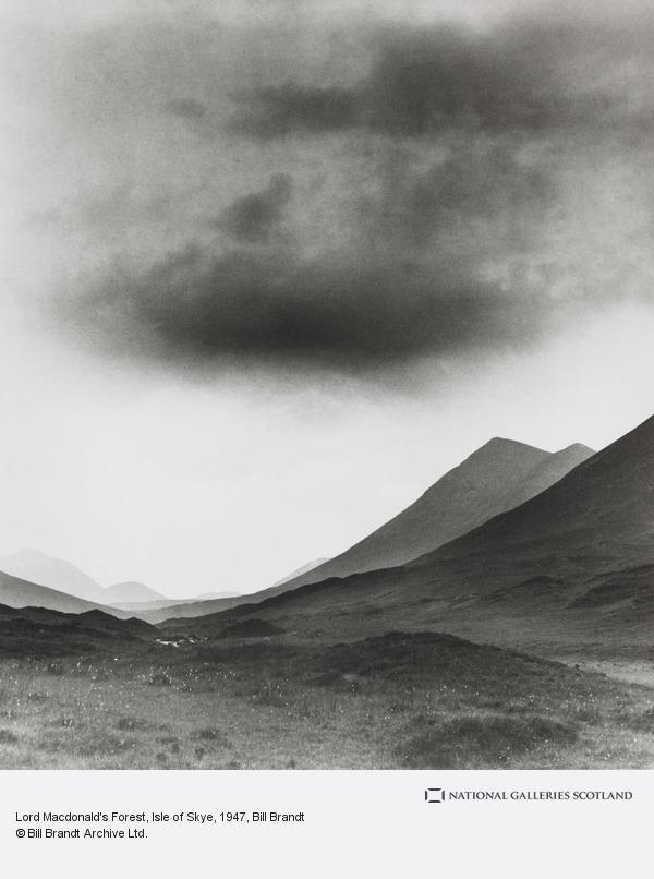 Bill Brandt, Lord Macdonald's Forest, Isle of Skye (1947 (print 1970s))