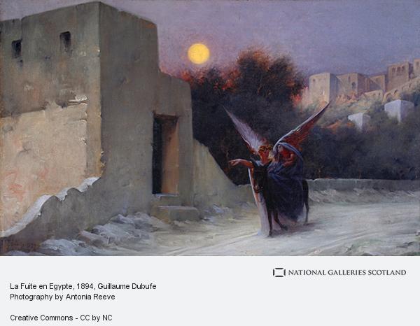 Guillaume Dubufe, La Fuite en Egypte