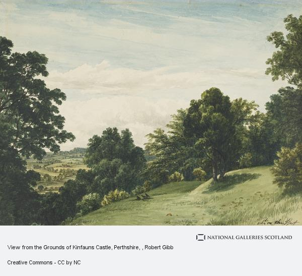 Robert Gibb, View from the Grounds of Kinfauns Castle, Perthshire